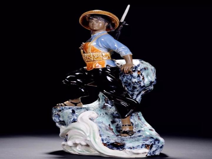 刘泽棉作品-《南海前哨》