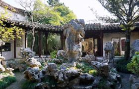 中式园林的诗意画境表现在哪些方面?