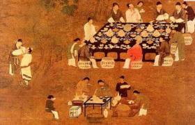 古代餐桌上的礼仪文化