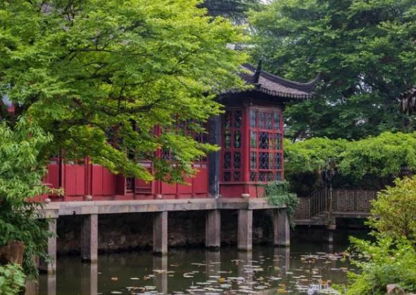 """中国园林的""""人文氛围"""" 营造"""