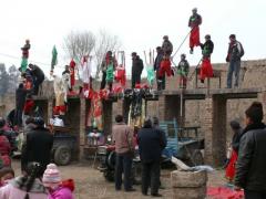 星太瑞:金冲村高台市级非遗传承人