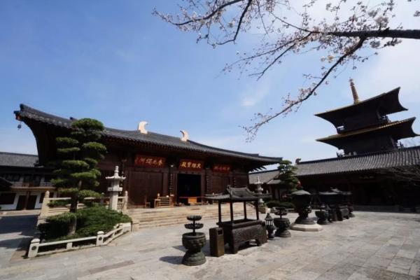 中国佛教寺院建筑的兴盛