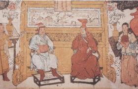 元代蒙古族的服饰——云想衣裳系列