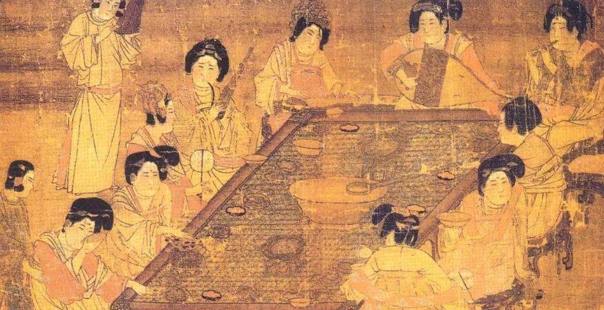 唐朝宫廷饮食文化:豪奢的公主,作秀的天子