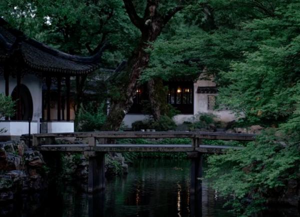 中国园林艺术——隐一方山水