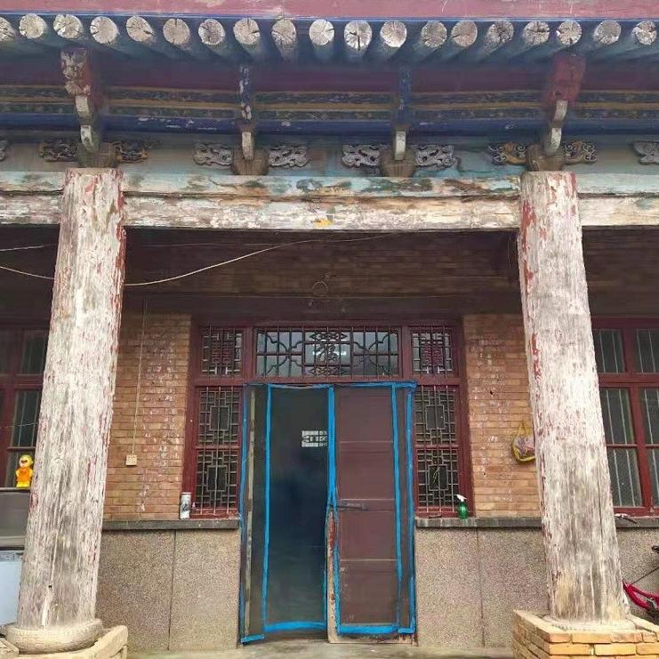 出售_渭北南焦大院的清代老房子 面积约150平方 可整体移建_编号565图1
